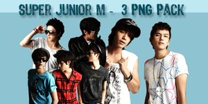 Super Junior M PNG Pack by superseoul11