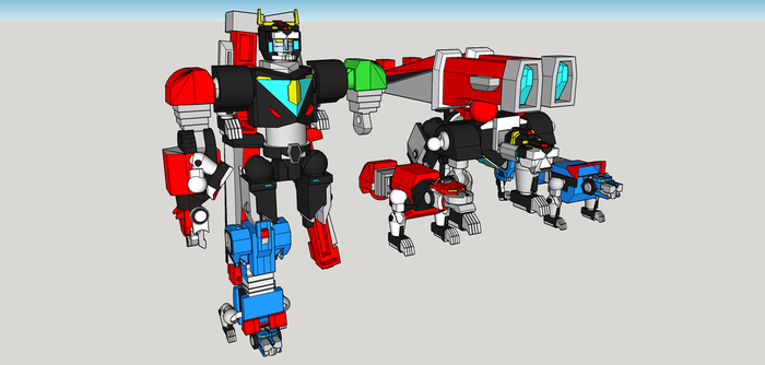 Voltron wip 9 by Lilscotty