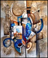 K abstract painting by Amytea
