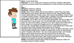 Tyrone Pines OC description by fanfics4ever