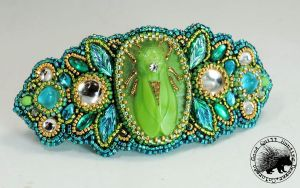 Cicada Barrette by GoodQuillHunting