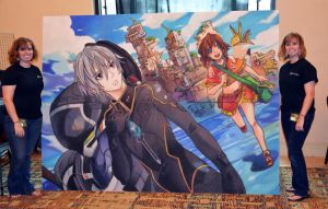 Gargantia with Artists by ChalkTwins