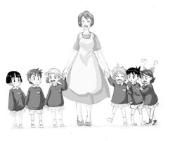 Ghibli Kindergarden by TheFandomWhore
