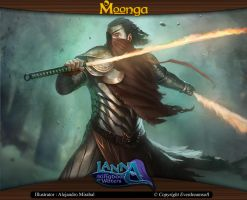 Moonga - Rage of the Knight of Shadows by moonga