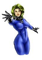 Invisible Woman by kyo-araya