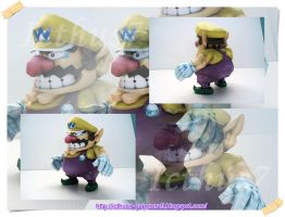 Wario from Mario Bros by enrique3