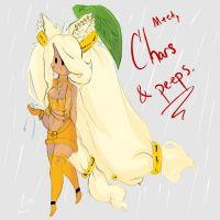 Rainy Day, Meet Chars and peeps by DivineSinn