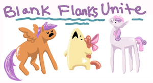 Blank Flanks by seniorpony