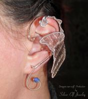 Dragon Ear Cuff - Protector by Lyriel-MoonShadow