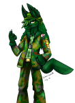 Green boy [commission] by ButlerVicki