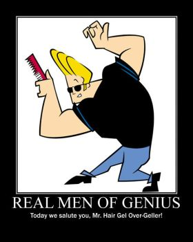 Real Men Of Genius - Johnny Bravo - by grimmjack