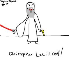 Christopher Lee - Age 19 by Page21