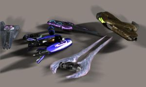 covenant weapon collection A by Robotlouisstevenson