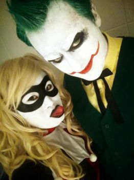 Joker and harley by rew-mysterio