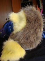 Lion hat back view by MonstrositiesNZ