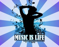 Music Is Life by maneita