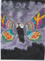 Mystic Mothra by Vulture-King