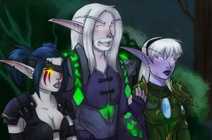 Night Elves by SirMeo