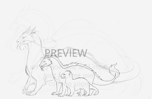 Dragon ARPG rough preview by noebelle