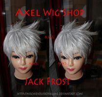JACK FROST WIG by MischievousBoyAilime
