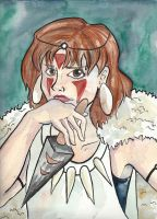 Princess Mononoke by Sacari
