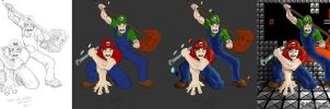 The End Mario Wip by icoman