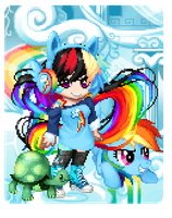 Rainbow Dash by DerpyLuv123