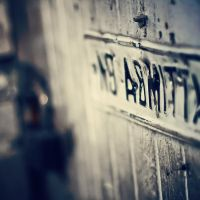 No Admittance by jonniedee