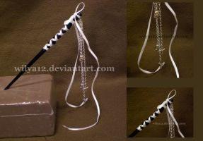 Japanese gothic hair stick by Wilya12