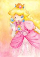Princess Peach - SSB by Ma-yara