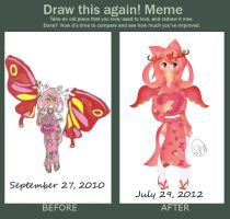 Before and After Moshu by MoshuChan