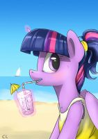 Purple Summer by Candylux