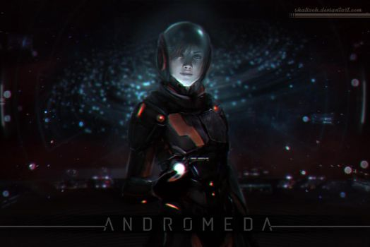 Mass Effect: Andromeda by shalizeh