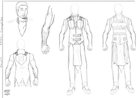 Ratic Concept Sketches by EraticThaArtist