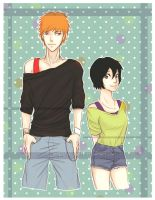 Bleach: Ichiruki 03 by ChiisaiNoKuma