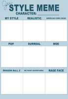 style meme - blank by saturnesque