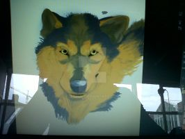 Wip - Wolf by Isofur