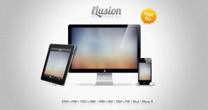 iLusion wall pack by xatDefect