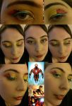 Iron Man Make Up by JlouCherryStar