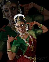 Indian Dancer by montalvo-mike