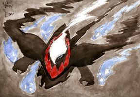 darkrai by thanatos1988
