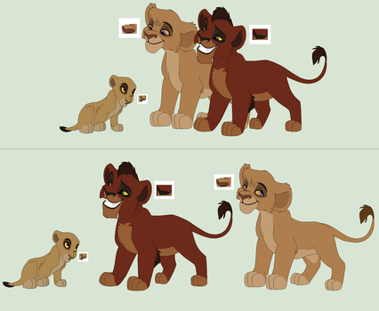 Cubs meeting newborn Base (1/2) by ChubNarwhalBases