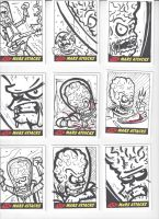Mars Attacks! Sketch Cards #2 by mikehampton