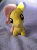 Fluttershy Commission by DappleHeartPlush