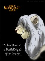 The Lion Knight Arthas Menethil by Flive-aka-Nailan
