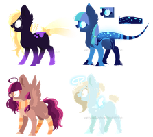 ~Adoptable~ Ponies 70 -- 73 [OTA] :CLOSED: by Xanty-Adopts