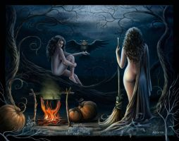 The Witches by Araniart
