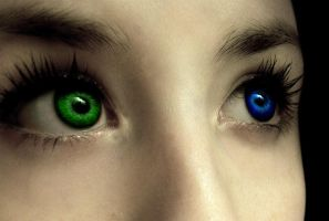 Karin's eyes by ChaseYoungFangirl