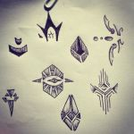 Weird symbols of mine .-. by Lady-Autobot17