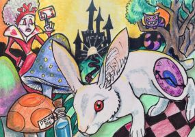 ACEO: Wonderland by DanielleMWilliams